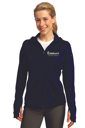 Ladies Full Zip Tech Hoodie L248 - Embroidered (4 Logo Options)