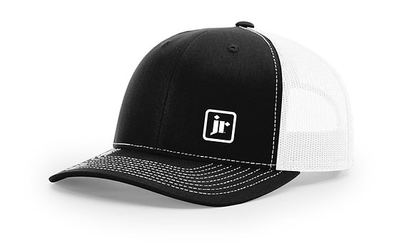 Richardson 112 Snap Back Trucker Hat with Embroidered Logo