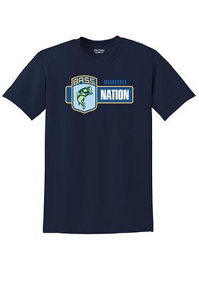 Short Sleeve 50/50 Blend Tshirt- Screen Printed (Full Chest or Left Crest) Logo