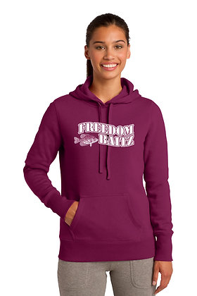Women's Hoodie (2 Colors Available) w/Freedom Baitz Screen Printed Logo