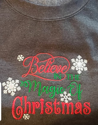 Believe in the Magic of Christmas Standard Hoodie