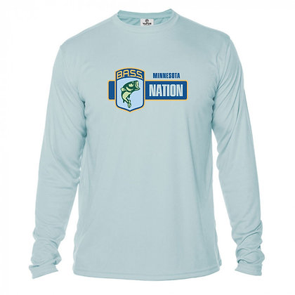Sublimated Long Sleeve Performance Tshirt- Full Chest Logo