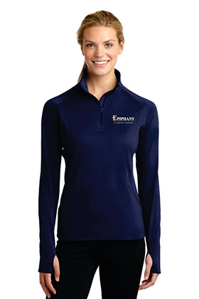 Ladies 1/4 Zip Pullover LST850 - Embroidered (4 Logo Options)
