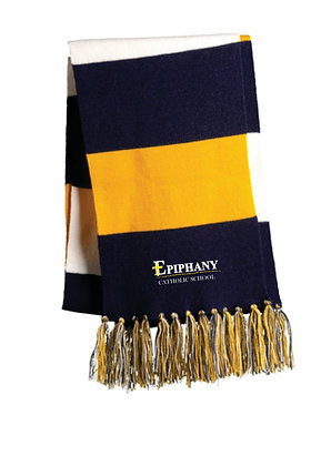 Spectator Scarf  STA02 - Embroidered (2 color & 4 Logo Options)