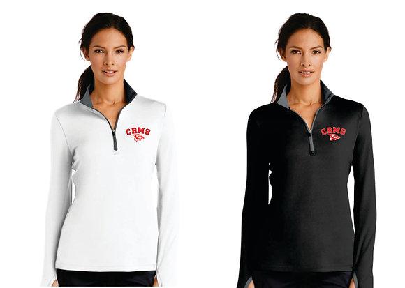 Nike Dri-FIT Stretch 1/2-Zip Cover-Up - Ladies