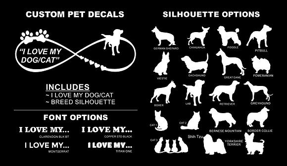 Custom Pet Decal 2