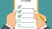 A beginner's checklist