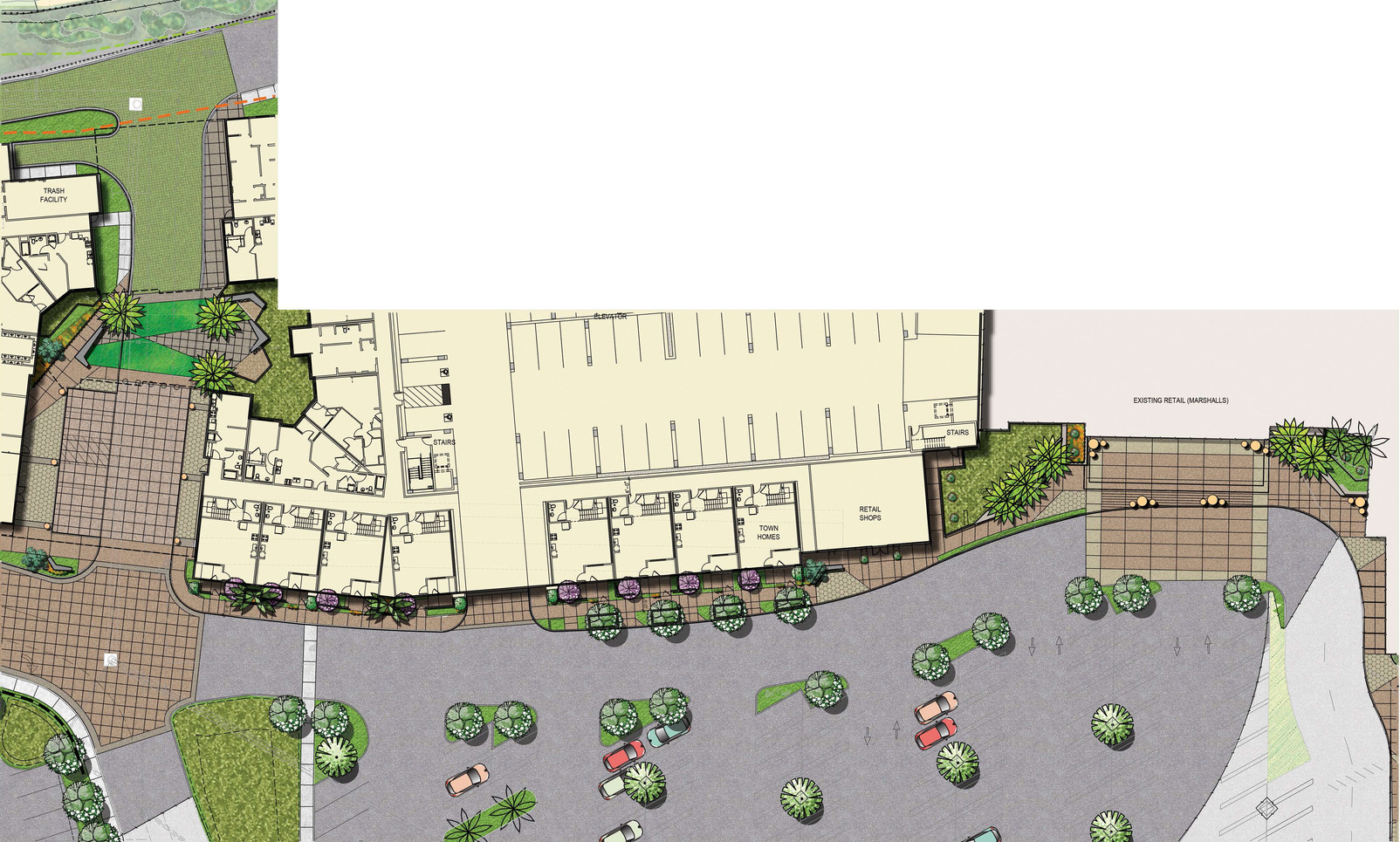 North County Plaza Retail Cooridor Enlargement
