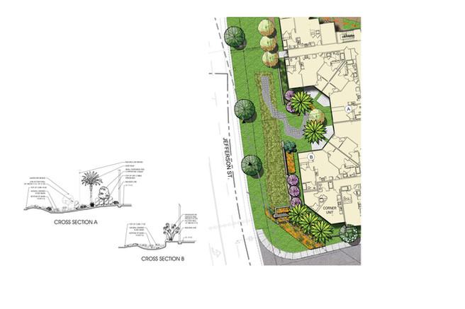 North County Plaza West Basin Enlargement