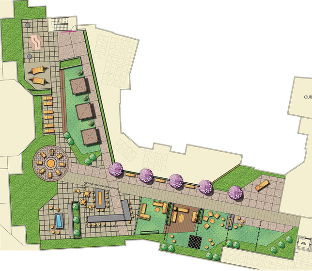 North County Plaza Sky Deck Enlargement