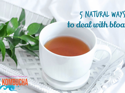 5 Natural Ways to Deal with Bloating