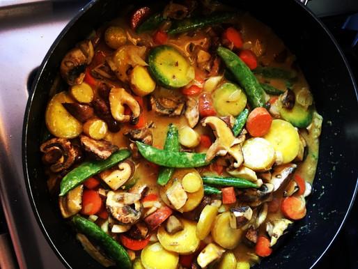 Spicy Shrimp & Veggie Curry
