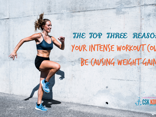 Top 3 Reasons Why Your Intense Workout Could Be Causing Weight Gain