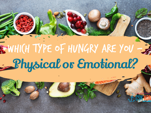 What Type of Hungry are you - Physical or Emotional?