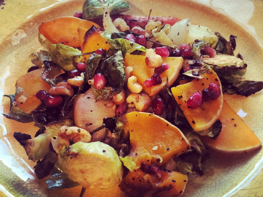 Thanksgiving week: veggie side & some thoughts on gratitude, in action