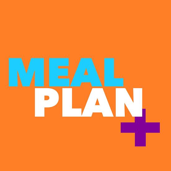 Custom Meal Plan Plus
