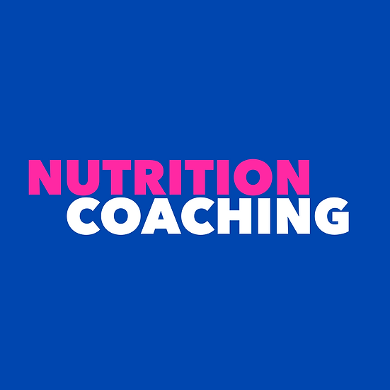 3 Month Nutrition Coaching Package