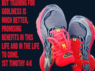Are you training both physically and spiritually?