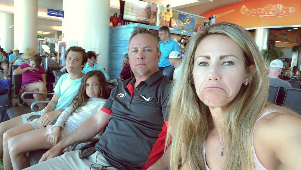 Flying Home makes for sad faces!
