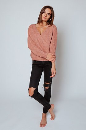 Clay Criss Cross Sweater