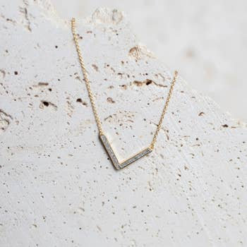 The V Necklace
