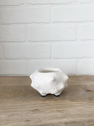 White Terracotta Vase