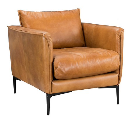 Jude Leather Club Chair
