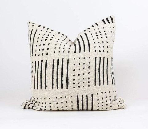 """PREORDER- 18""""x18"""" Mudcloth Pillow"""
