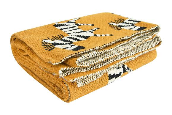 Zoe the Zebra Blanket