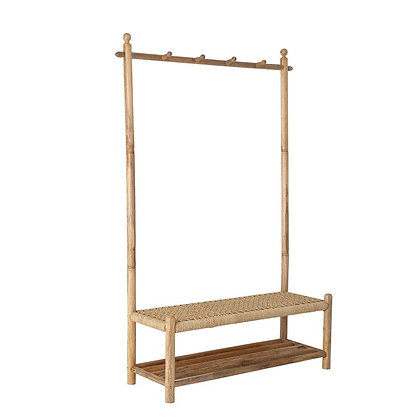 Preorder- MB Woven Bench Hall Tree