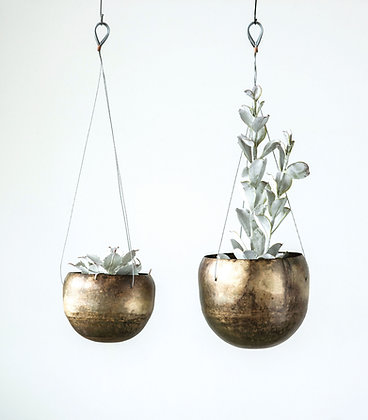 Penelope hanging planters- set of 2