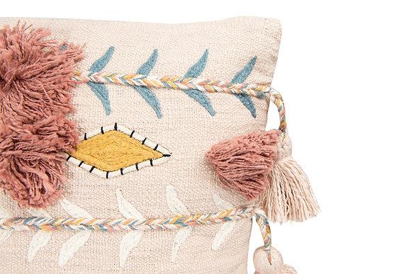 Boho Dreams Pillow-Blush