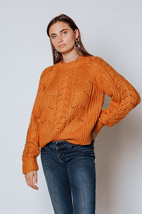 PREORDER-Mustard Cuffed Sweater