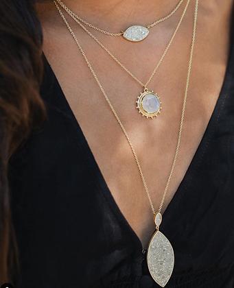 The Odyssey Teardrop Necklace