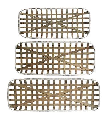 Tobacco Baskets-Set of 3