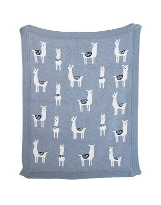 Louie The Llama Blanket