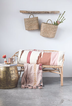 The Addison Blanket-Blush