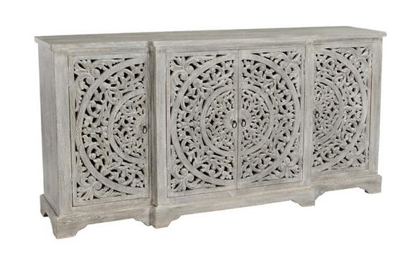 Lahlou Carved Sideboard