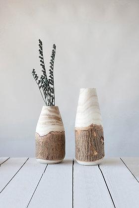 The Baylee Wood Vase