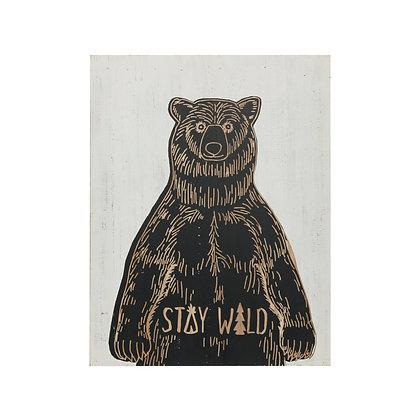 Stay Wild Wall Art