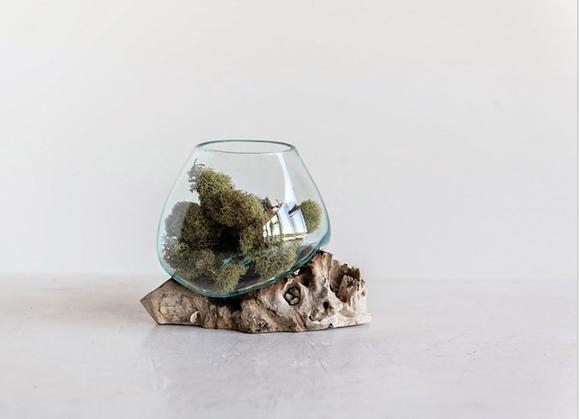 Jude Glass Planter
