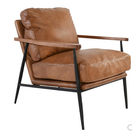 The Porter Leather Chair
