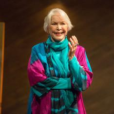 Ellen Burstyn spoke in honor of Philip Seymour Hoffman to whom the Relentless Award is dedicated.