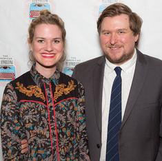 Emily Simoness and Michael Chernus
