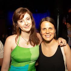 Relentless Award Winners Gracie Gardner (2017) and Sarah DeLappe (2015)