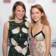 2015 Relentless Award Winners Sarah DeLappe for 'The Wolves' and Clare Barron for 'Dance Nation'
