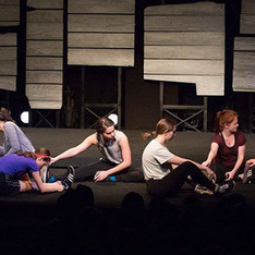 An excerpt performance of the winning play, The Wolves