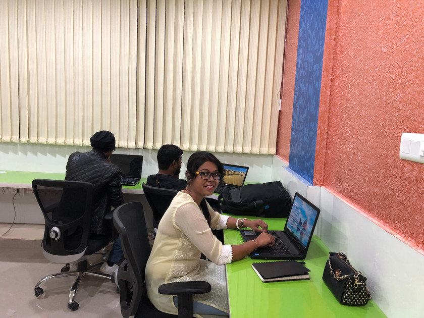 Work Area with people