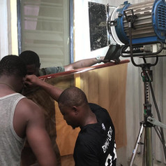 Nollywood Film, Lagos, Nigeria