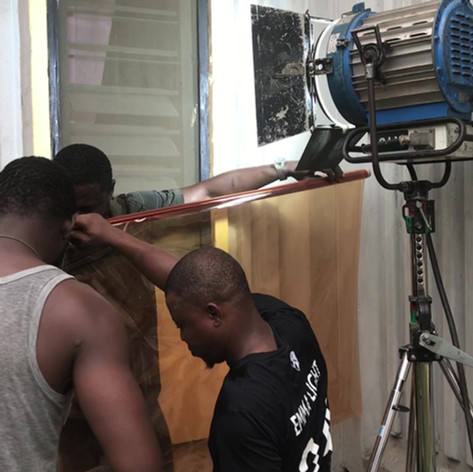 Nollywood Film, Lagos, Nigeria